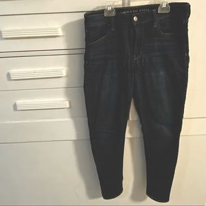 2/$30 👖 American eagle dark wash skinny jeans